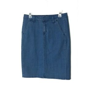 3/$40 Old Navy Dark Wash Denim Skirt 4